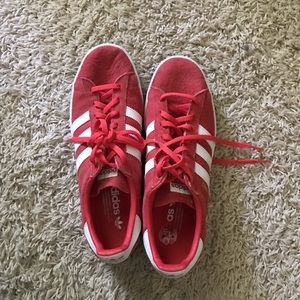 Red Adidas Tennis Shoes